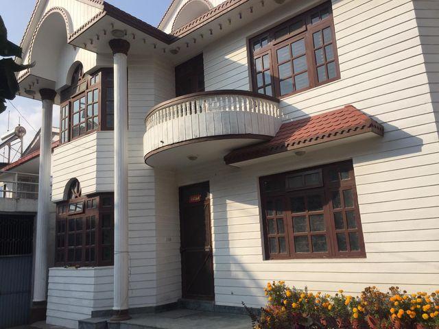 House on 8 aana land