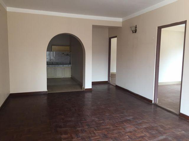 3 bedroom, living room, kitchen/hall, 2 bathroom flat