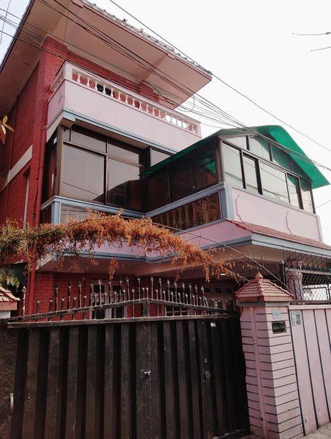 2 & half storeyed semi-furnished house