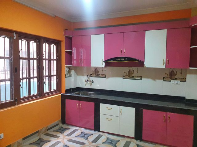 Nicely decorated 2BHK flat