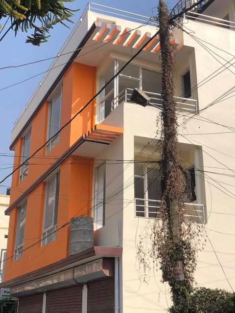 3.5 Storey House with 10 rooms each have attached bathroom 3 shutter Available at Jhamsikhel