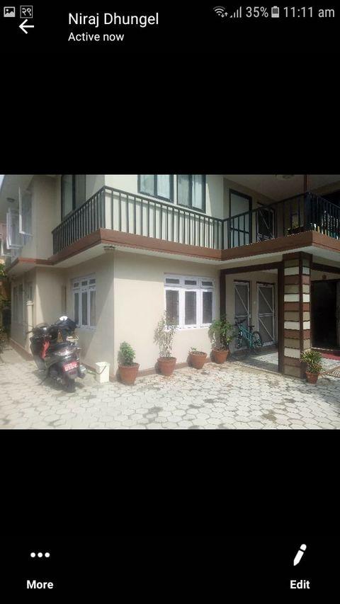 2bhk with 2 bathroom available at Naxal
