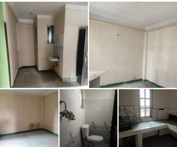 2 rooms, hall, kitchen, bathroom flat